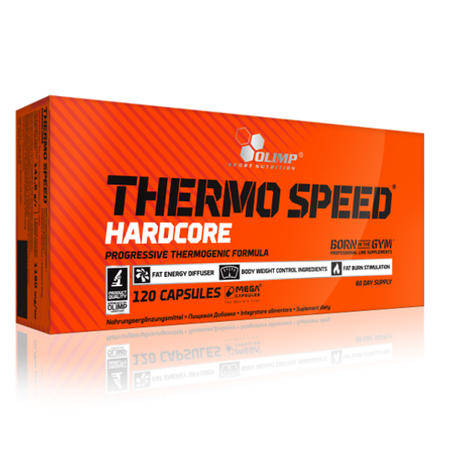 Olimp Sport Nutrition - Thermo Speed Hardcore 120 caps