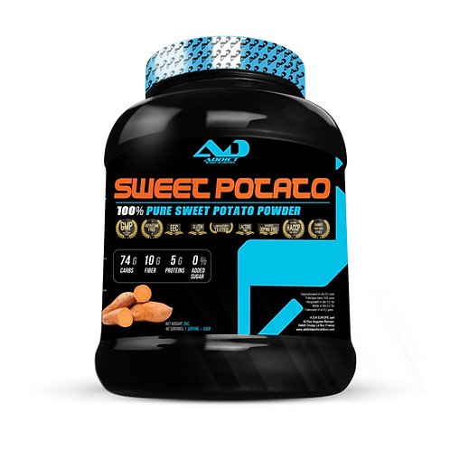 Addict Sport Nutrition - 100% Patate Douce 2000 gr Neutre