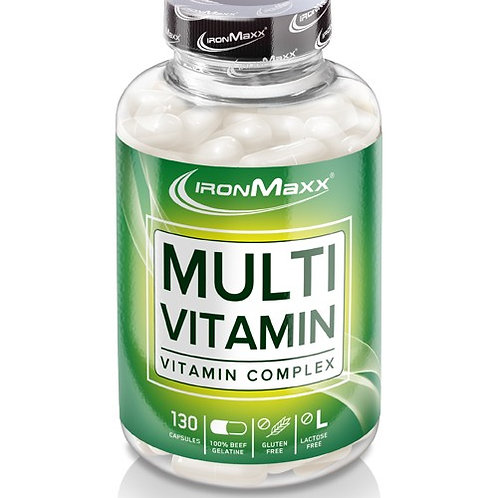 IronMaxx - Multivitamin 130 caps