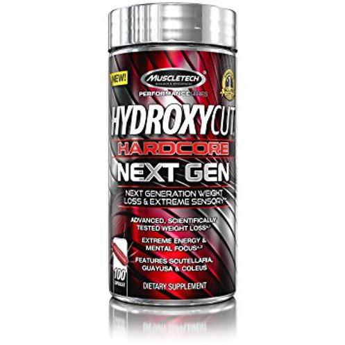 Muscletech - Hydroxycut Hardcore Next Gen 100 caps