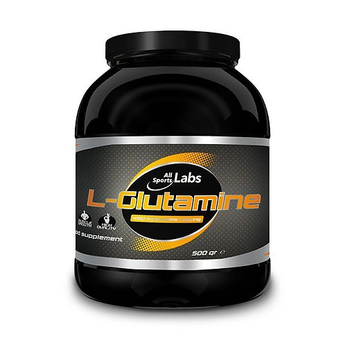 All Sports Labs - L-Glutamine 500 gr Neutre