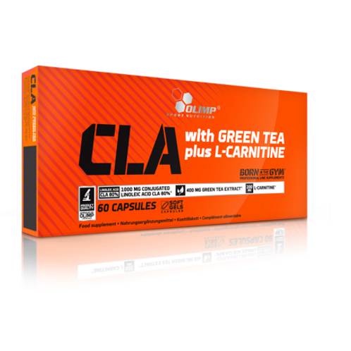 Olimp Sport Nutrition - CLA & Green Tea + L-Carnitine 60 caps