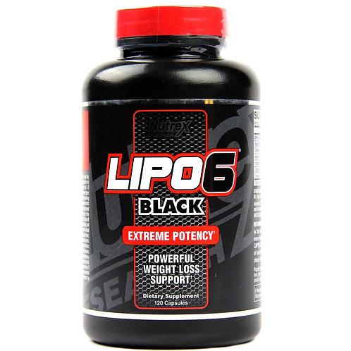 Nutrex - Lipo 6 Black 120 caps
