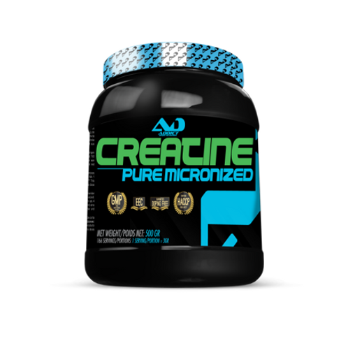 Addict Sport Nutrition -Creatine Pure Micronized 500g Neutre