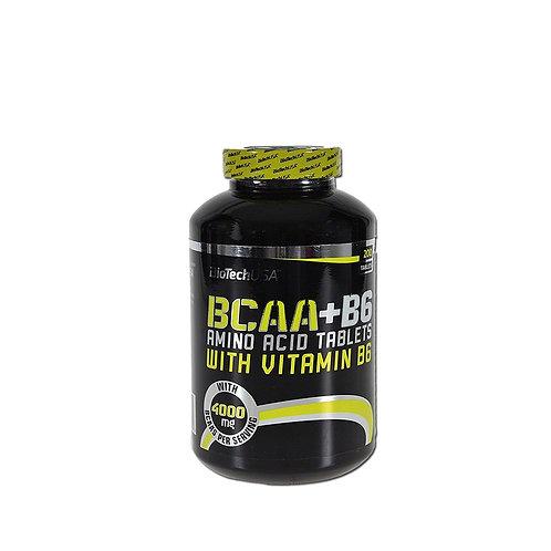 BioTech USA - BCAA+B6 200 Tabs