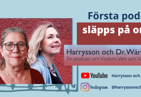 Nu lanserar jag och Margareta Wärja från Expressive Arts Stockholm en Podcast!