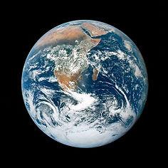 stockbild på jorden i rymden