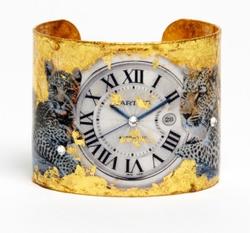 clock cuff