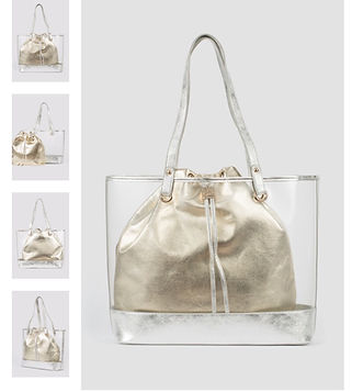 Joseph Ribkoff handbag with removable  g