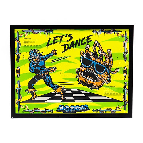 Barely Human: Let's Dance  Poster