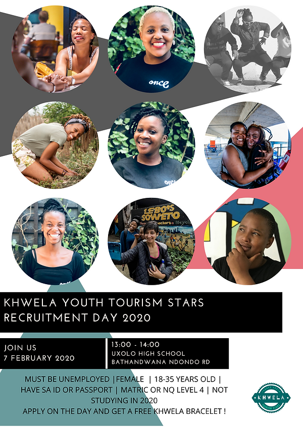 RECRUITMENT POSTER KHWELA 2020  KHAYELIT
