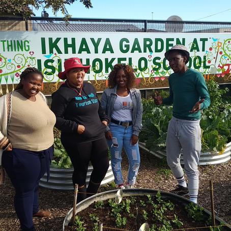 Khwela graduates at Ikhaya Garden