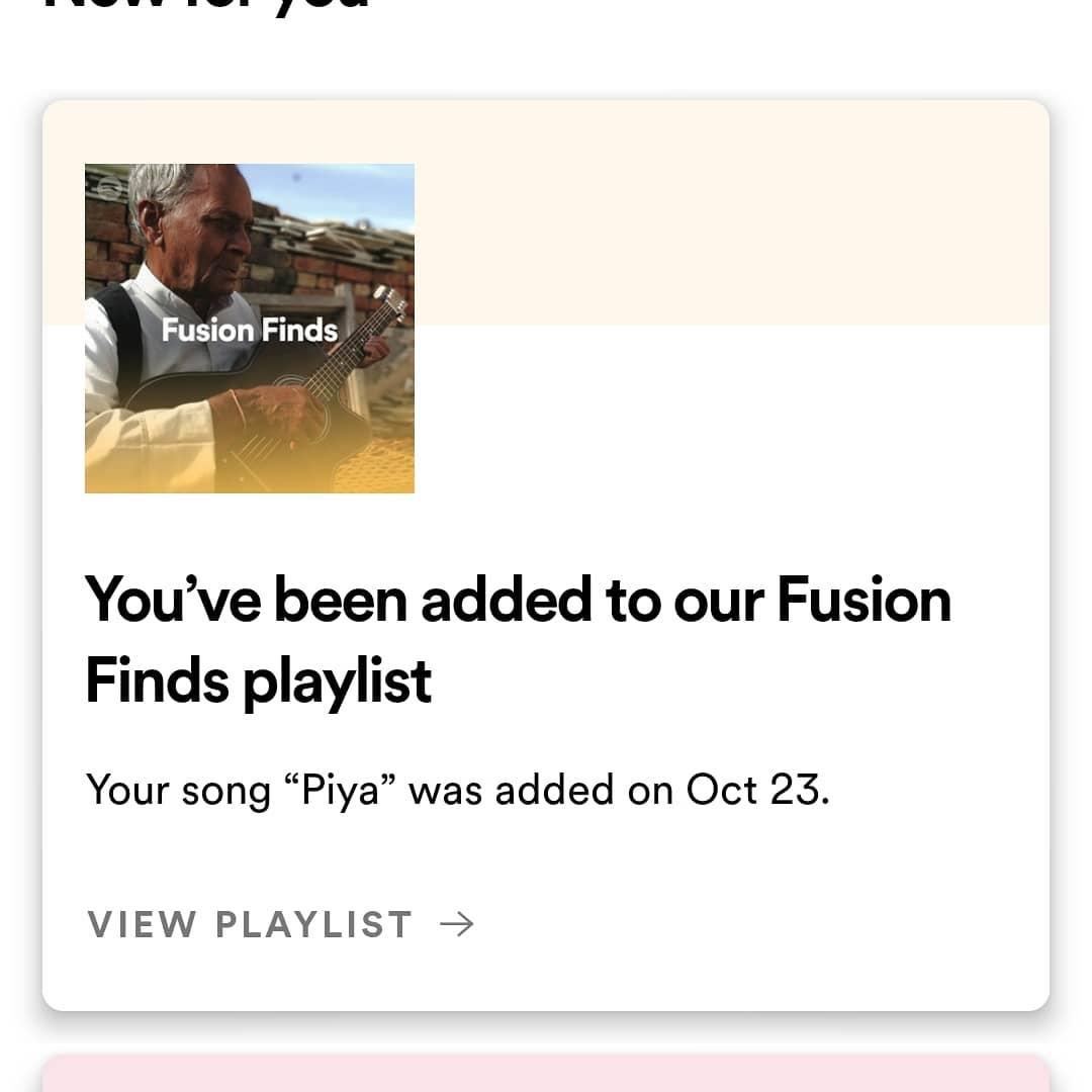 Fusion Playlist