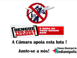 Câmara Municipal apoia luta contra a Dengue