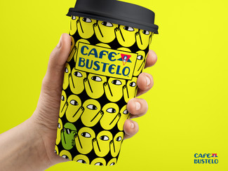BRANDED COFFEE CUP PATTERNS