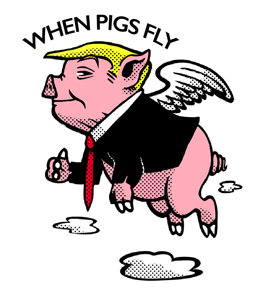 When Pigs Fly, Mixed Media