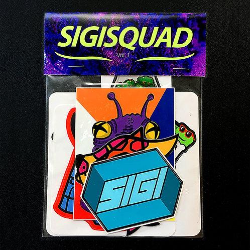 SIGSQUAD Stickerpack Vol. 1