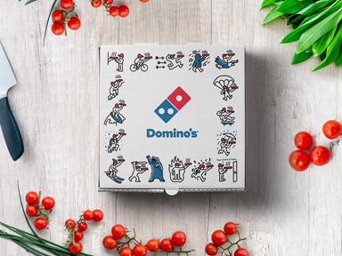 DOMINO'S PIZZA BOX DESIGN