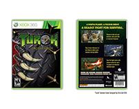 TUROK GAME COVER DESIGN
