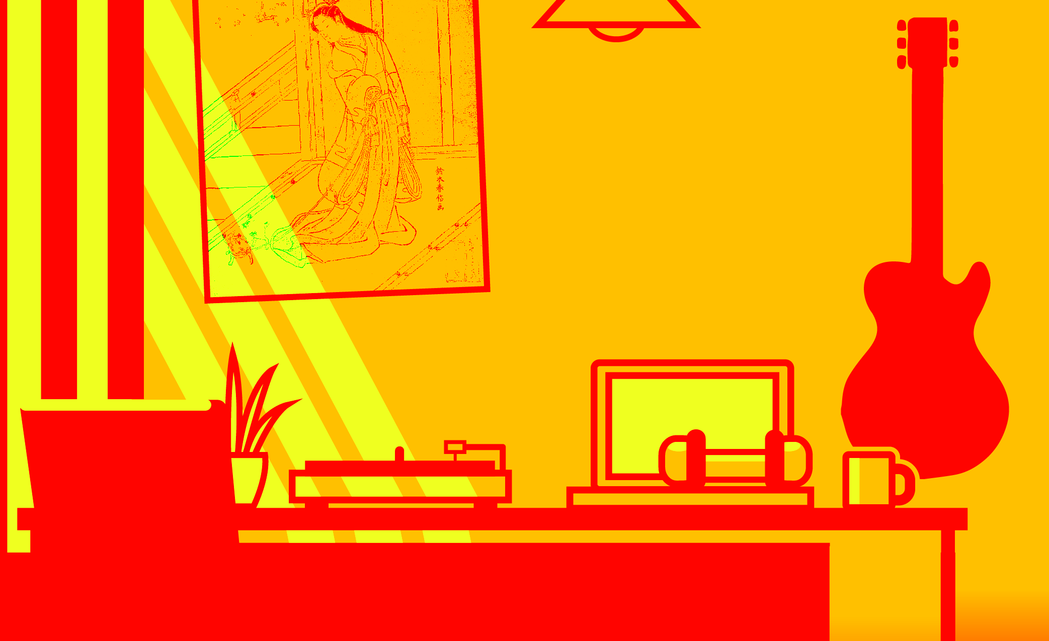 Zen Room, Illustrator