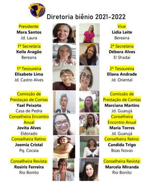Diretoria Biênio 2021-2022