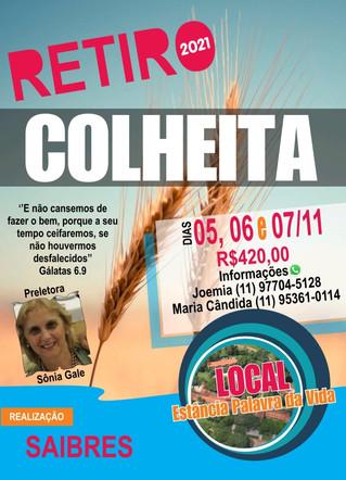 Retiro 2021 - COLHEITA