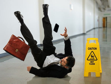 Slip & Fall-  Reasons to Speak to an Attorney