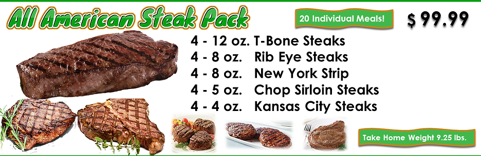 All American Steak Pack