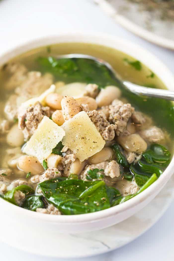 Turkey & White Bean Soup