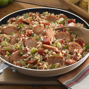 Jambalaya with Andouille Sausage