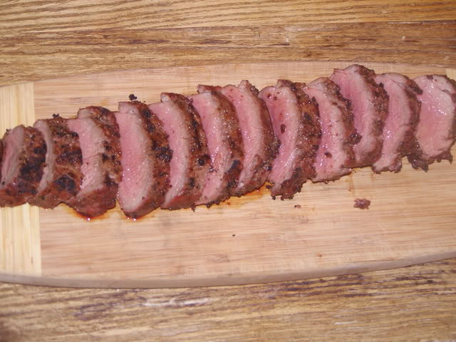 Baked Deer Backstrap