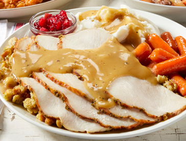 Roasted Turkey and Dressing