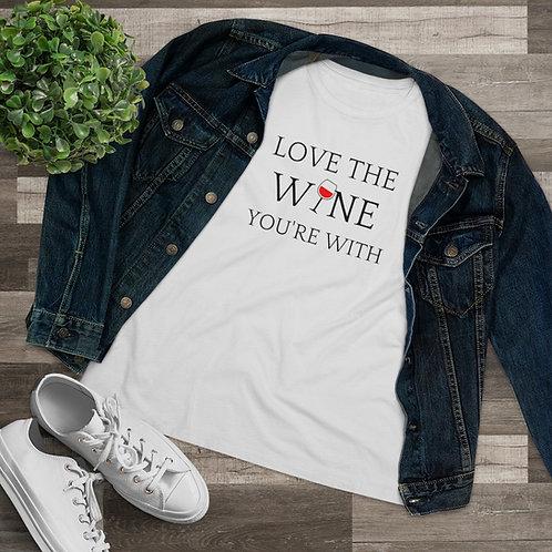 YSM Women's Wine Lover Tee