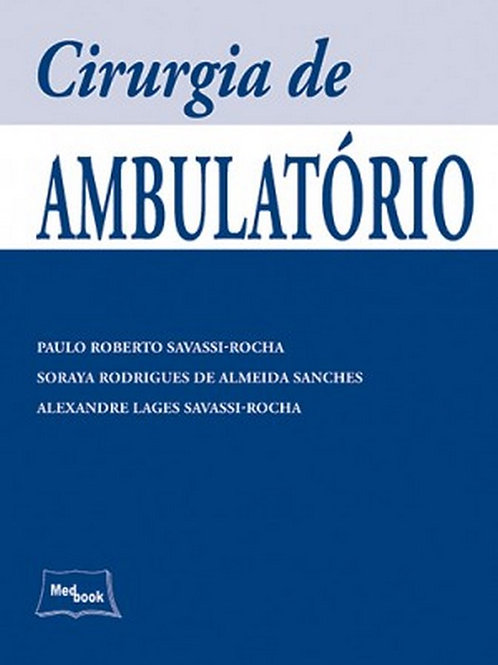 Livro Cirurgia de Ambulatório