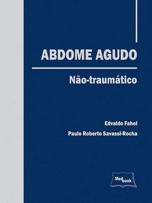 Livro Abdome Agudo - Não-traumático