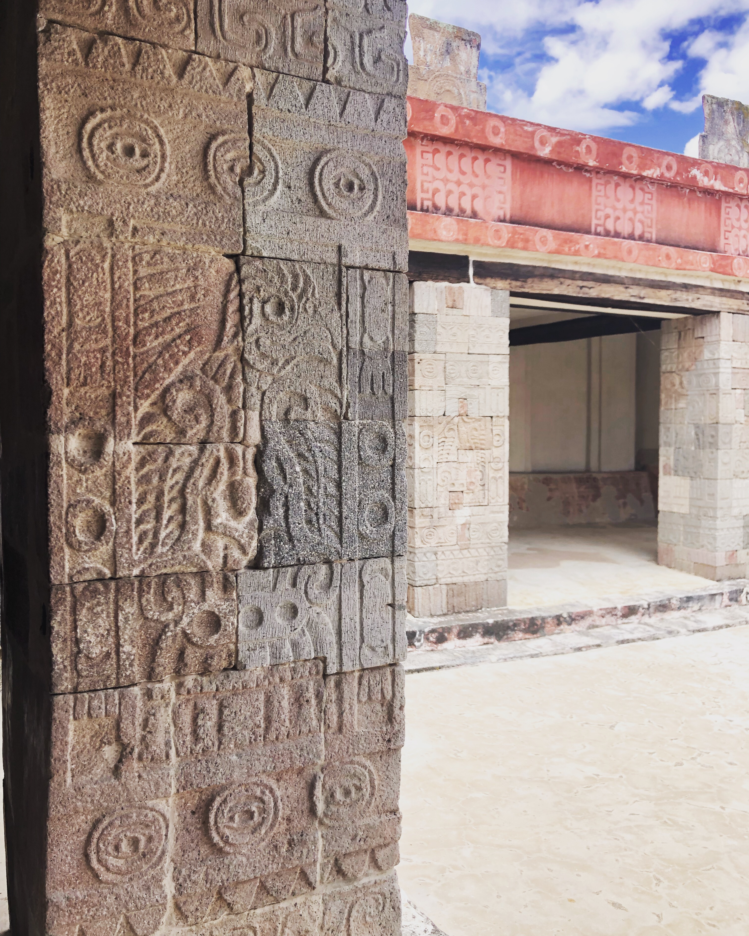 Plaza de la Luna, Teotihuacan, Mexico
