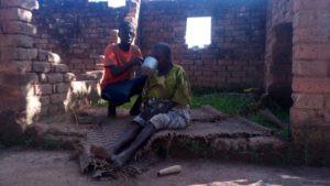 Thanks, says Amina from Kihulungi