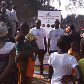 Awarding life saving hamlet Mothers