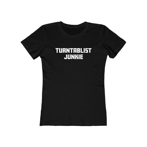 Women's Turntablist Junkie Tee