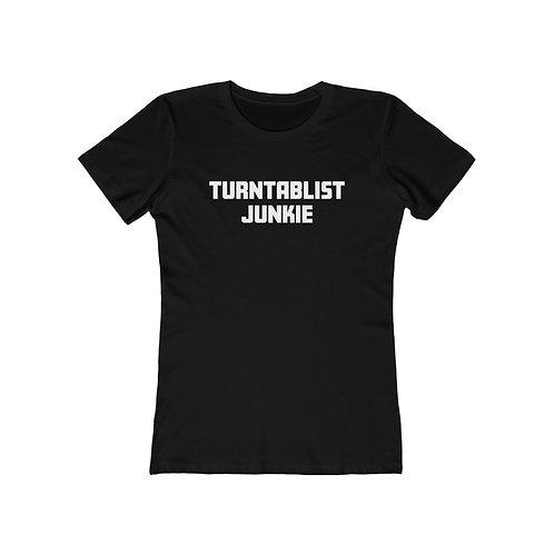 Women's Turntablist Junkie Tee