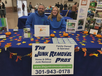 The Junk Removal Pros Owner Gretchen & Manager Dustin