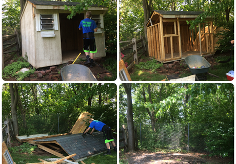 shed removal-light demolition-The Junk Removal Pros