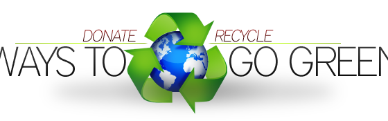 How We Recycle and Donate Your Junk