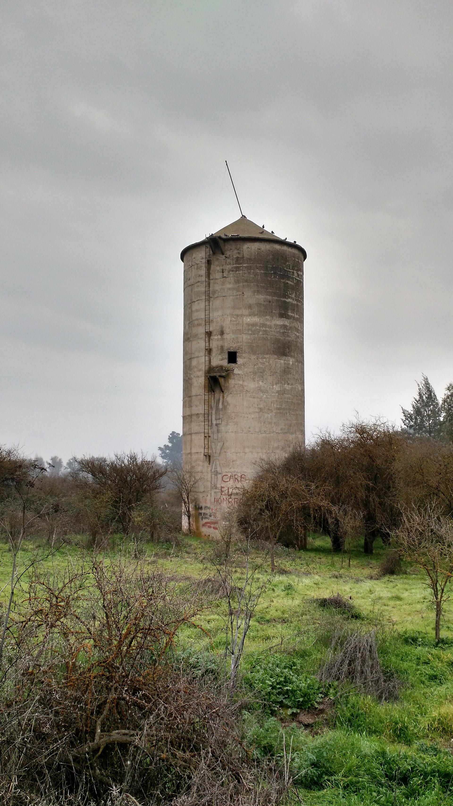 Estructura abandonada