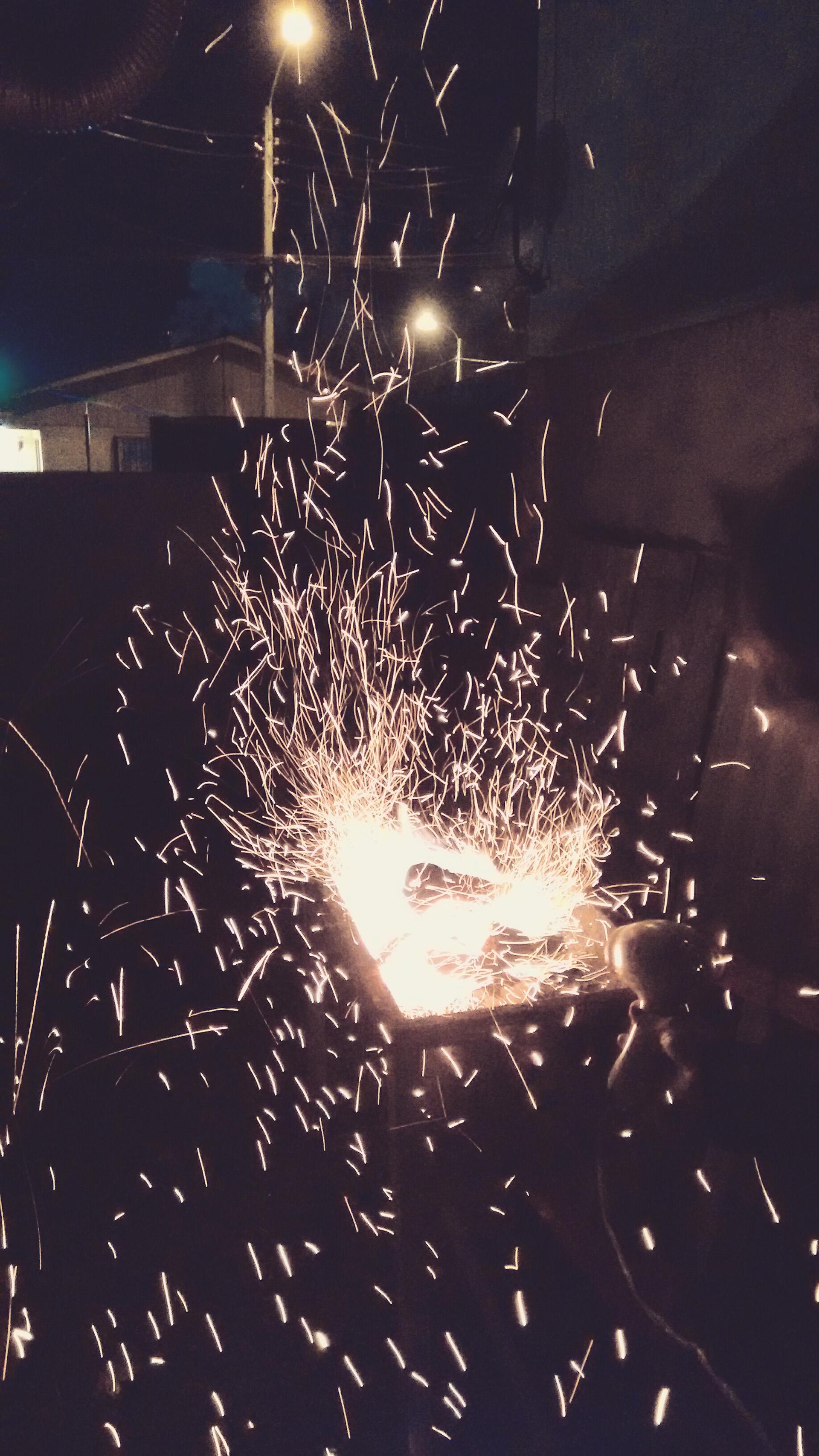 Una noche de fuego