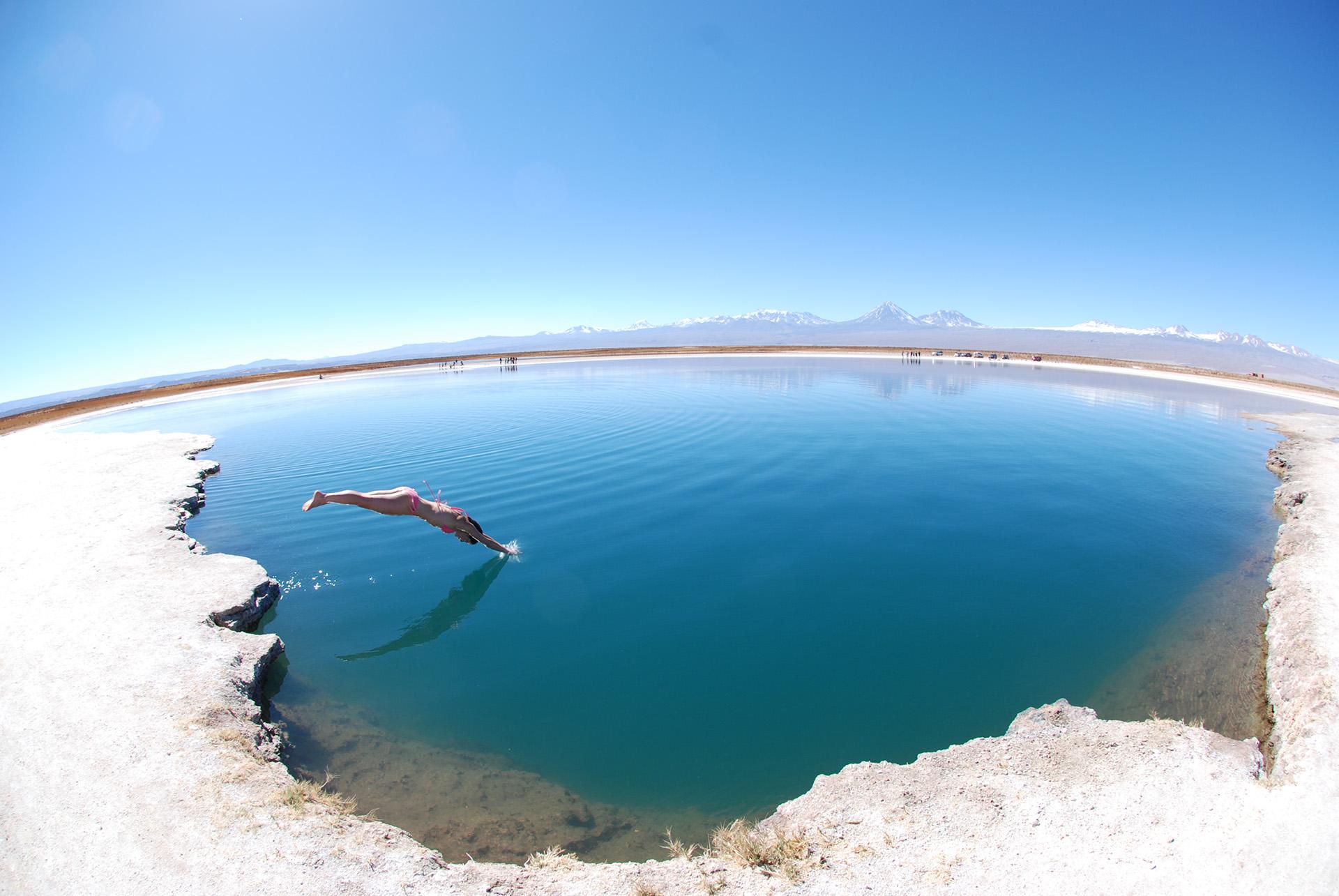 Espejo en el agua
