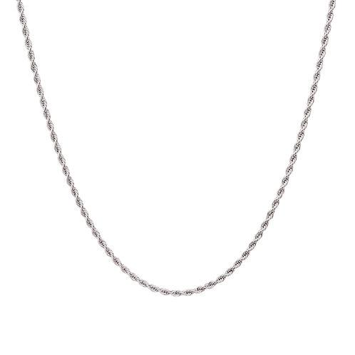 Luna Necklace Silver