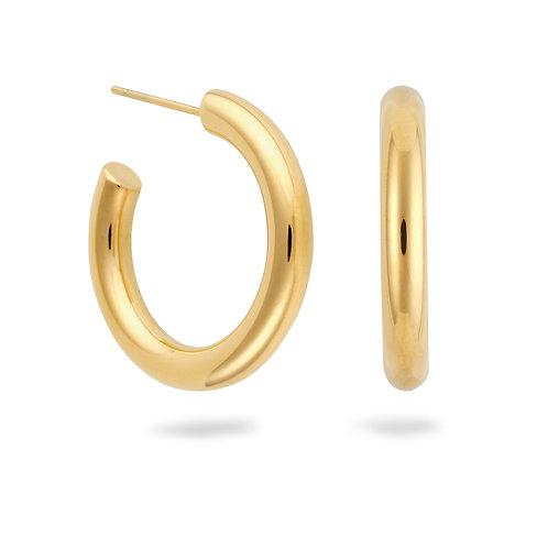 Thea Hoops Medium Gold