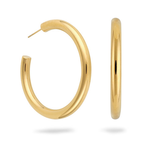 Thea Hoops Large Gold