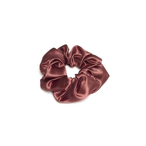 Dark Red Scrunchie